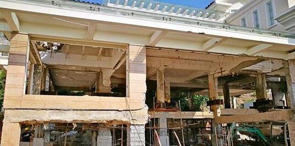 别墅改造加固施工